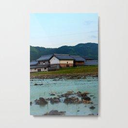 Farming in Japan Metal Print