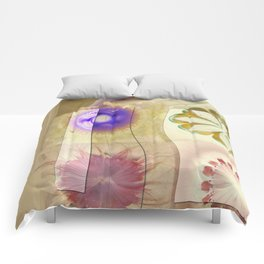 Gleeted Substance Flower  ID:16165-082307-33861 Comforters
