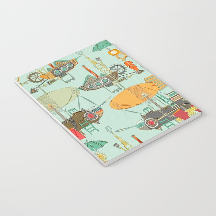 steampunk sky Notebook