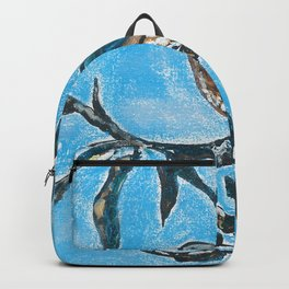 Bird on a branch Backpack
