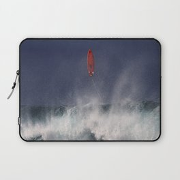 Let's go fly a surfboard on the North Shore. Laptop Sleeve