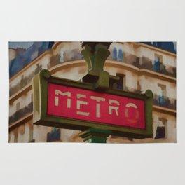 Paris Metro Rug