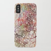 austin iPhone & iPod Cases featuring Austin by MapMapMaps.Watercolors