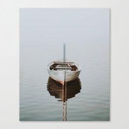 boat / maldives Canvas Print