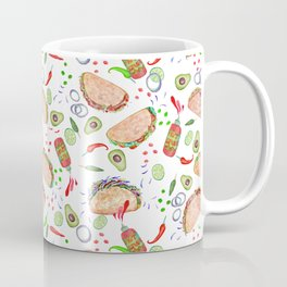 "Tacos are ""Hot Stuff"" and we love them! Coffee Mug"