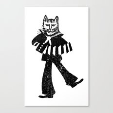 Sailor Jack the Cat Canvas Print