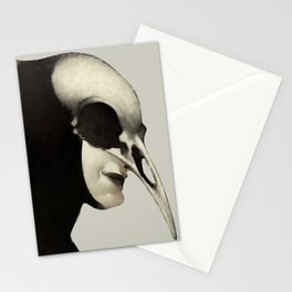Pascal Funeral Mask Stationery Cards