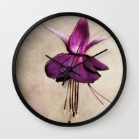 ballerina Wall Clocks featuring ballerina by lucyliu