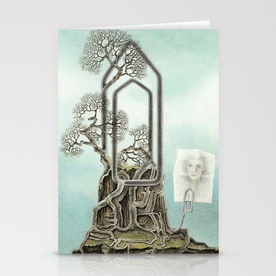 Music score Stationery Cards