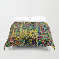 circus Duvet Covers featuring Circus by Glanoramay