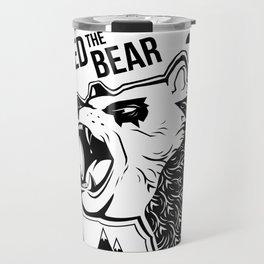 Bears and Mountains Travel Mug