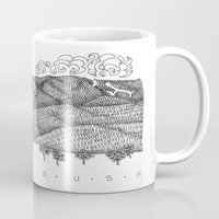 vermont Mugs featuring Zentangle Sugarbush, Vermont by Vermont Greetings