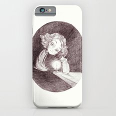girl, cat and candle Slim Case iPhone 6s