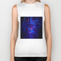 northern lights Biker Tanks featuring Northern Lights by Cs025