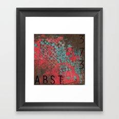 ABSTract 373. Framed Art Print