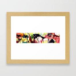 concertina 2  Framed Art Print