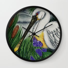 Within the Reeds Wall Clock