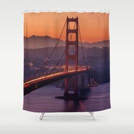 Golden_Gate_Bridge_20170801_by_JAMFoto Shower Curtain