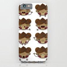 Chestnut Girl Mood Slim Case iPhone 6s