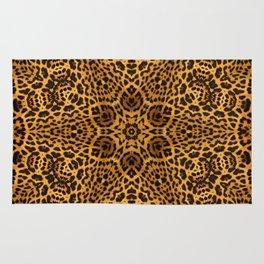 abstract animal print star Rug