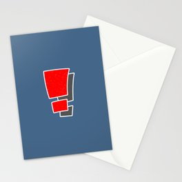 Exclamation Stationery Cards