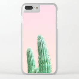 Cactus Pop Clear iPhone Case