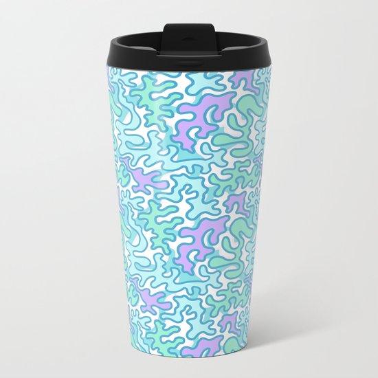 Wild Pattern 2 Metal Travel Mug