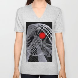loops and balls -2- Unisex V-Neck