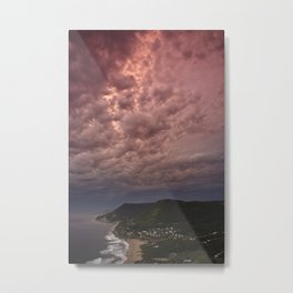 Pink Sunrise Metal Print