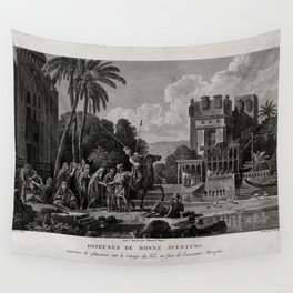 Egyptian Fortune-tellers Outside a Palace Wall Tapestry