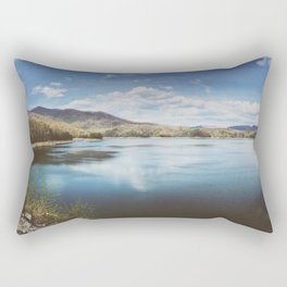 Fontana Dam Panorama • Appalachian Trail Rectangular Pillow