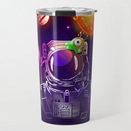 Spaceman doodle Travel Mug