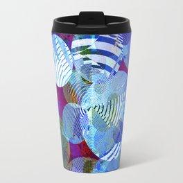 Violet Paper Lanterns Travel Mug
