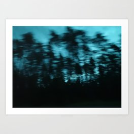 Dark Woods II Art Print