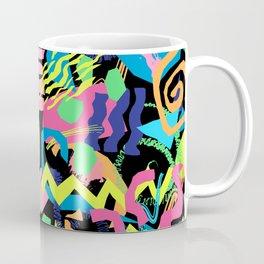 Surf Shapes in Black Coffee Mug