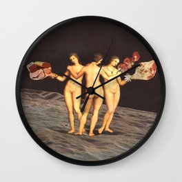 Shortcuts and Steakholders Wall Clock