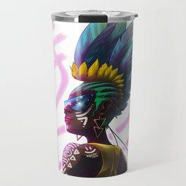 Feather Queen Travel Mug