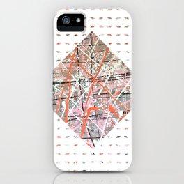 Flight of Color - diamond graphic iPhone Case