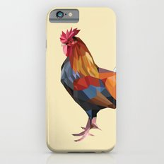 Geometric Rooster iPhone 6s Slim Case