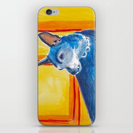 toothy dog iPhone Skin