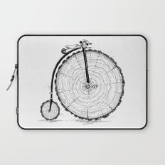wooden bicycle Laptop Sleeve