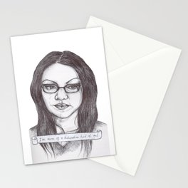 A Dishwasher Kind of Gal Stationery Cards