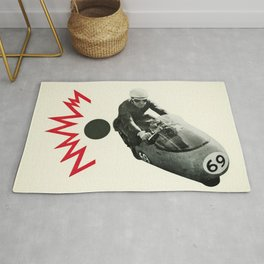 Motorcycle Madness Rug
