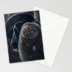 solar owl jupiter  Stationery Cards
