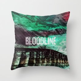 Bloodline Throw Pillow