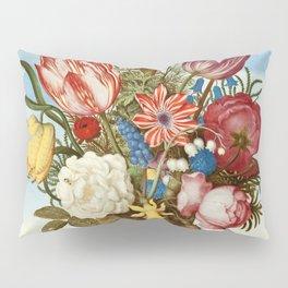 "Ambrosius Bosschaert ""Bouquet of Flowers on a Ledge"" Pillow Sham"