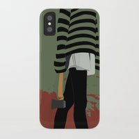 blood iPhone & iPod Cases featuring blood by Eda ERKOVAN