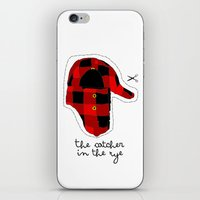 catcher in the rye iPhone & iPod Skins featuring Catcher in the Rye by Marianna