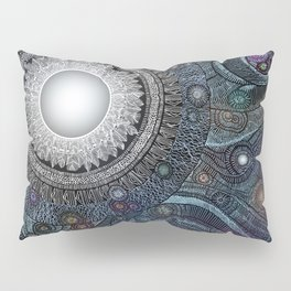 Feather Moon Pillow Sham