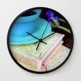 Jane Eyre and Jadeite Wall Clock